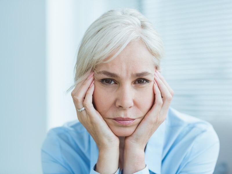 I sintomi della depressione in menopausa