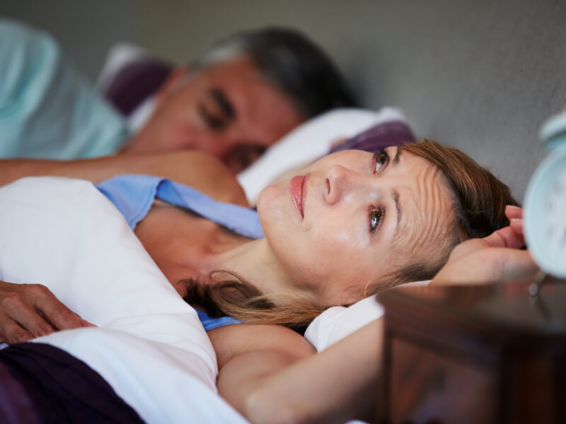 Sintomi delle sudorazioni notturne